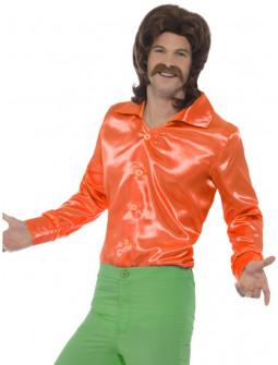 Camisa Naranja Años 60 para Hombre