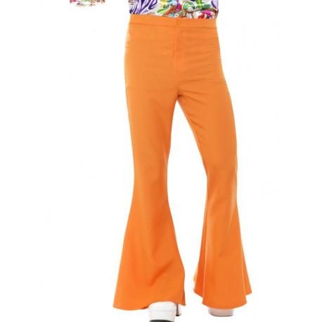 Pantalones de Campana Naranjas