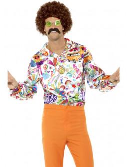 Camisa Hippie Flower Power