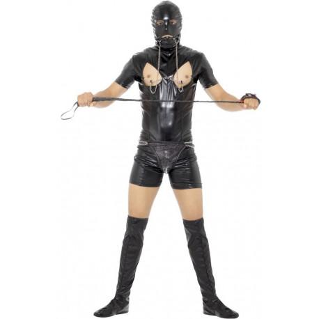 Disfraz de Sado Sumiso Corto para Hombre