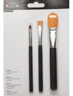 Kit de Bronchas para Maquillaje