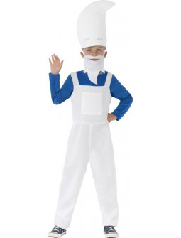 Disfraz de Pitufo para niño