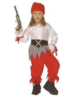Pirata con pantalón para Niña