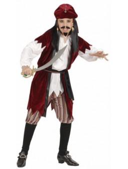 Disfraz de lujo Pirata del Caribe