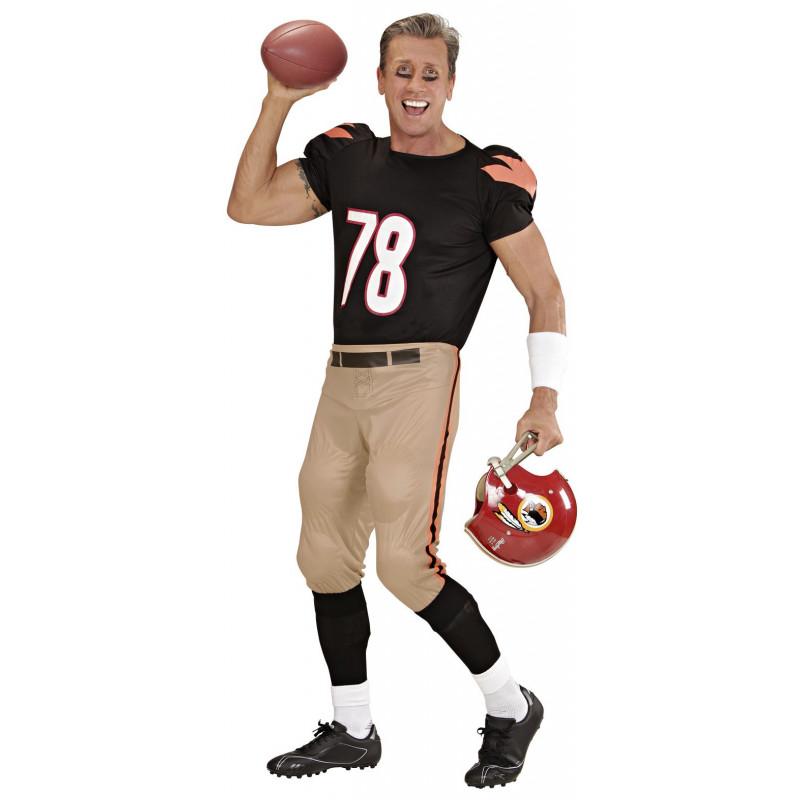 Disfraz de Jugador de Futbol Americano para Adulto  94deb8c965f