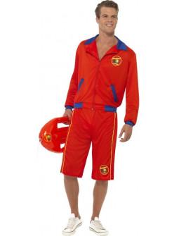Disfraz de los Vigilantes de la Playa Largo para Hombre