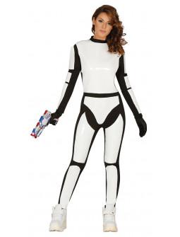Disfraz de Soldado Galáctico para Mujer