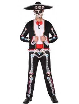 Disfraz Día de los Muertos Mexicano para Hombre