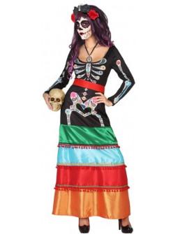 Disfraz Día de los Muertos Mexicano para Mujer