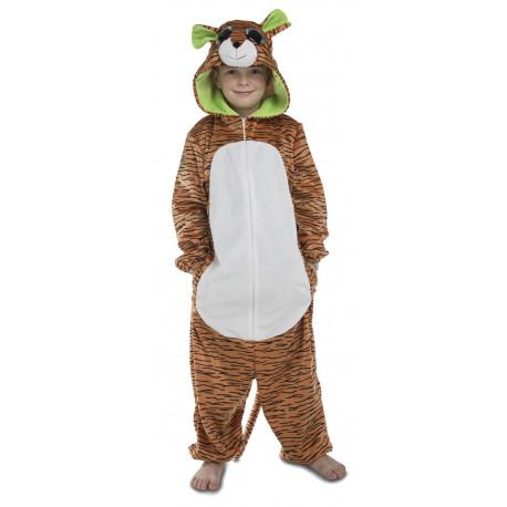 Disfraz de Tigre Ojazos Pijama para Niños