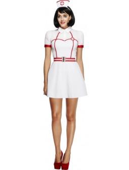 Disfraz de Enfermera Corto para Mujer