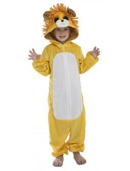 Disfraz de León Ojazos Pijama para Niños