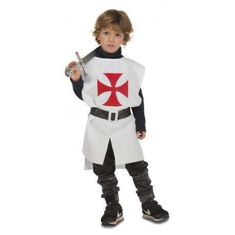 Peto Templario Medieval para Niño