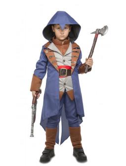 Disfraz de Assassin's Creed Azul para Niño