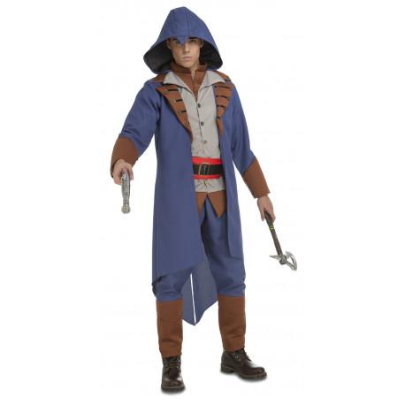 Disfraz de Assassin's Creed Azul para Hombre