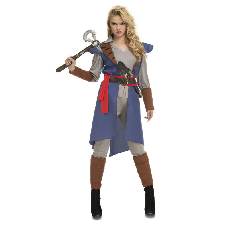 Disfraz de Assassin s Creed Azul para Mujer  6081d12c2ab