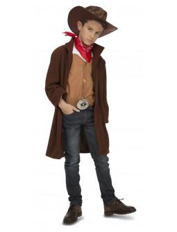 Disfraz de Vaquero con Abrigo para Niño