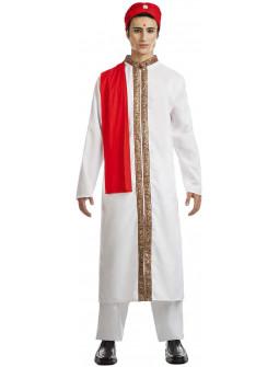 Disfraz de BollyWood Blanco para Hombre