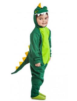 Disfraz de Dragón Verde Infantil