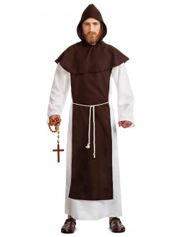 Disfraz de Monje Franciscano para Adulto