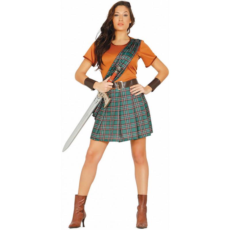 Disfraz de Escocés y Escocesa para Hombre y Mujer  c10274f1240