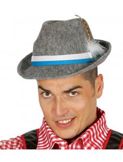 Sombrero Bávaro en Gris