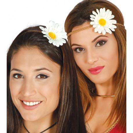 Diadema Hippie con Margarita