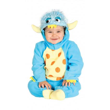 Disfraz de Monstruo Azul para Bebé