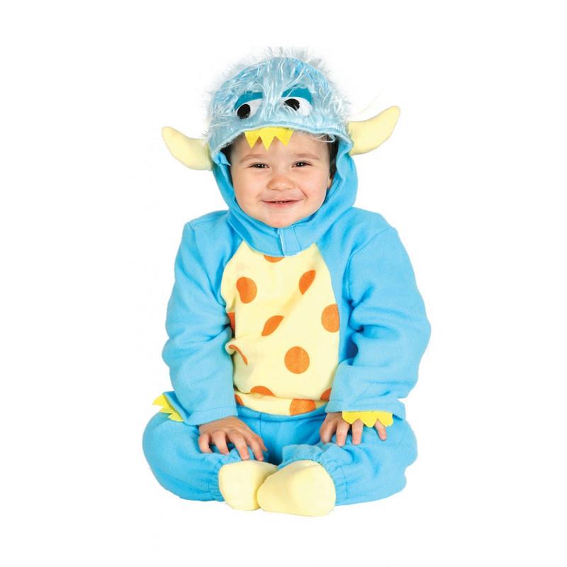 b6a01817b Disfraz de Monstruo Azul para Bebé