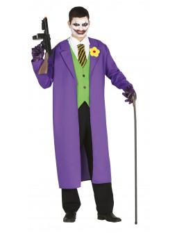 Disfraz de Joker con Gabardina para Hombre