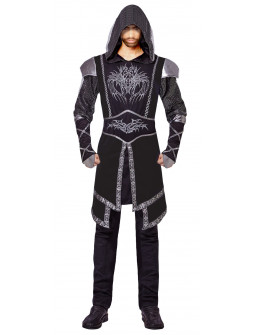 Disfraz de Asesino Medieval Oscuro para Hombre