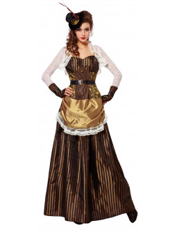 Disfraz de Dama Steampunk para Mujer
