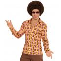 Camisa Setentera de Discos para Hombre