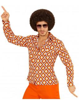 Camisa Sesentera de Rombos para Hombre