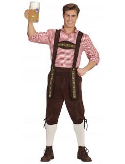 Pantalón Oktoberfest Marrón para Hombre