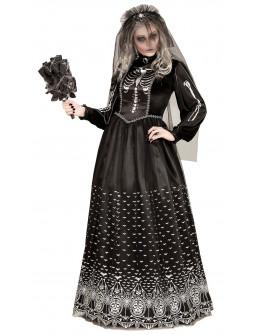 Disfraz de Novia Esqueleto para Mujer