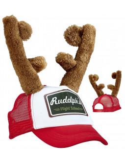 Gorra de Rudolf con Cuernos