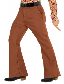 Pantalón de Campana Marrón Años 70