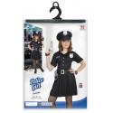 Disfraz de Policia Infantil para Niña