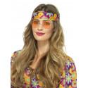 Gafas Redondas de Hippie Naranjas