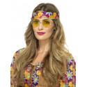 Gafas Redondas de Hippie Amarillas