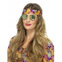 Gafas Redondas de Espejo Azules y Verdes