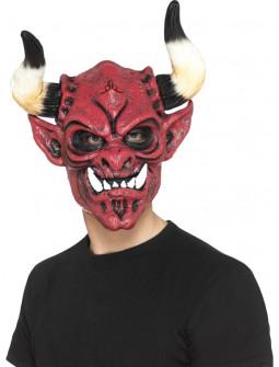 Máscara de Demonio con Cuernos