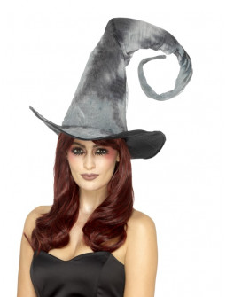Sombrero de Bruja Gris en Espiral