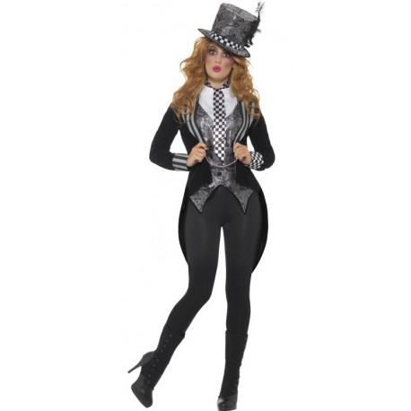 Disfraz de Sombrerera Oscura para Mujer