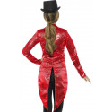Chaqueta Roja de Lentejuelas para Mujer