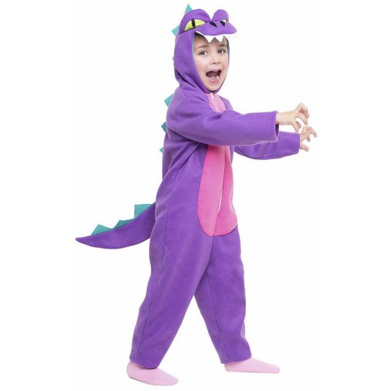 80c116c44 Disfraz de Dragón Morado y Rosa Infantil