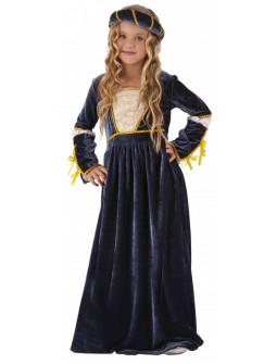 Disfraz de Julieta Medieval para Niña