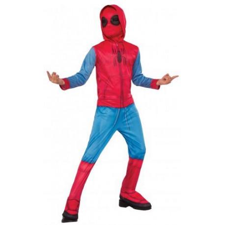 Disfraz Spiderman Homecoming con Sudadera para Niño