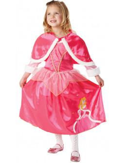 Disfraz de Bella Durmiente con Capa para Niña